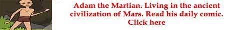 Adam The Martian. The architect of Mars.